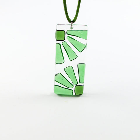 LAMA Glass Pendant - Green