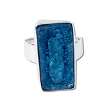 Rectangular Blown Glass Ring