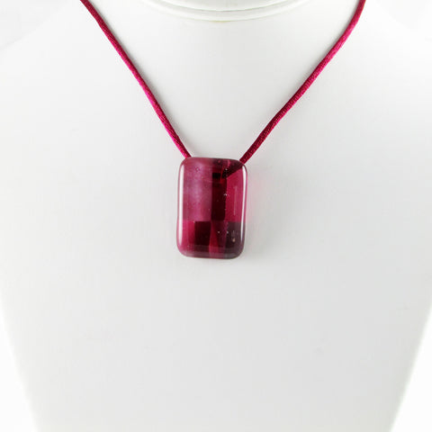 Spezi Mini Glass Pendant - Cherry