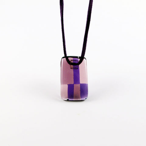 Spezi Mini Glass Pendant - Purple