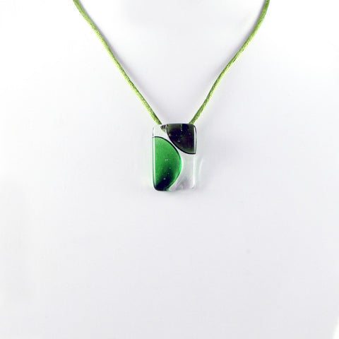 Onda Mini Pendant - Green