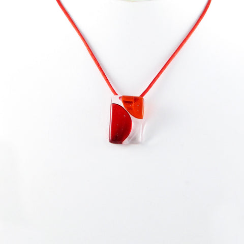Onda Mini Pendant - Red