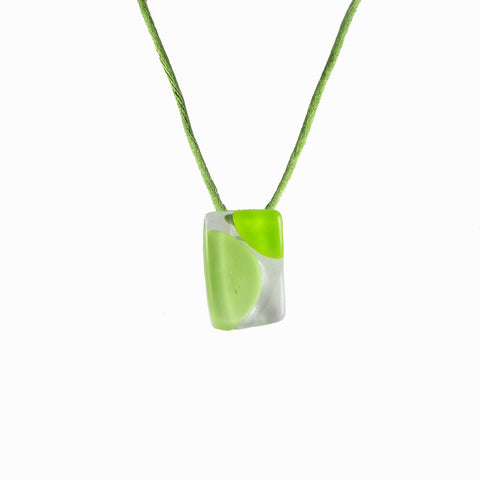 Onda Mini Pendant - Lime Green