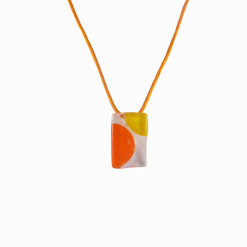 Onda Mini Pendant - Orange