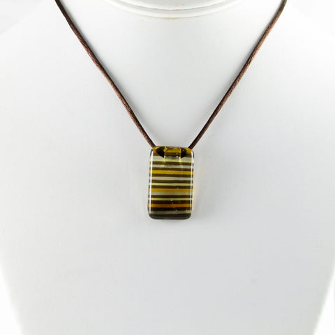 LGAN Mini Glass Pendant - Amber