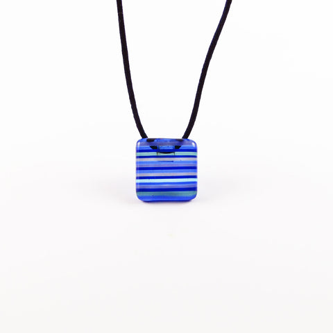 LGAN Mini Glass Pendant - Navy