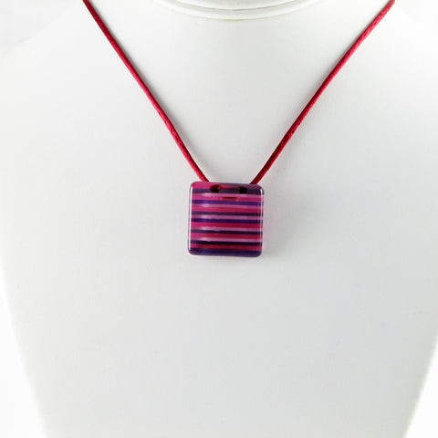 LGAN Mini Glass Pendant - Cherry