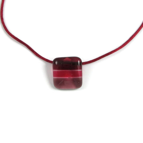 Shades Mini Glass Pendant - Cherry