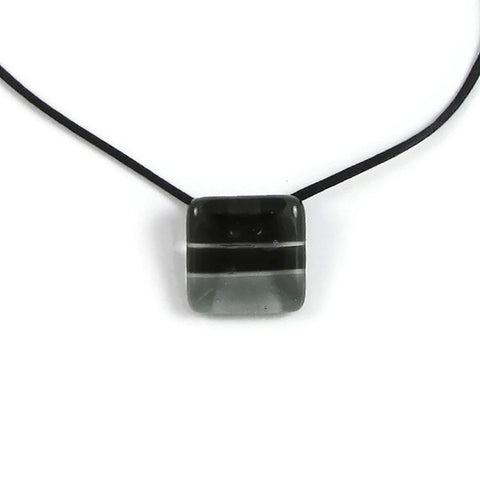 Shades Mini Glass Pendant - Black