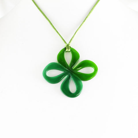 Mariposa Glass Pendant - Green