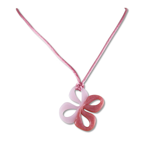 Mariposa Mini Glass Pendant - Pink