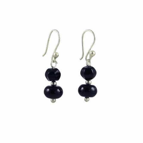 Marisa Earrings - Onyx