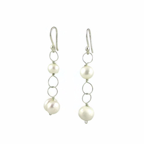 Julisa Earrings - Pearl