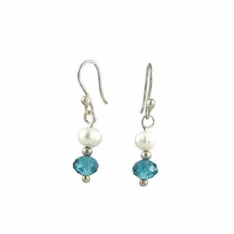 Marisa Earrings - Pearl