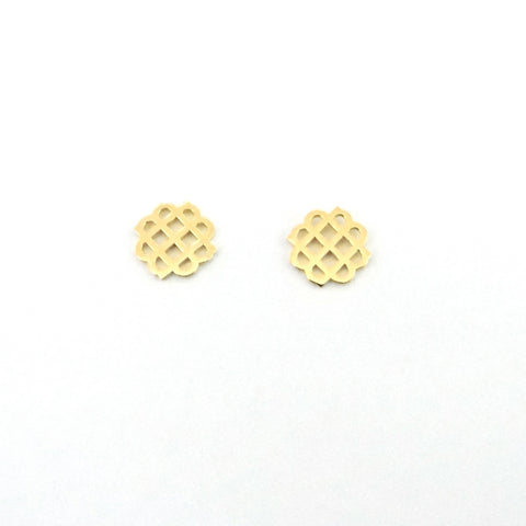 Millie Mini Earrings Gold