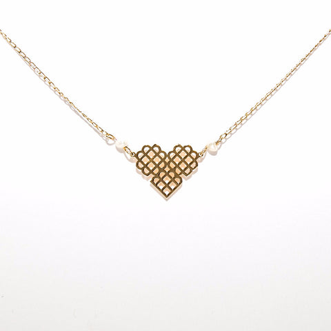 Millie Mini Heart Necklace
