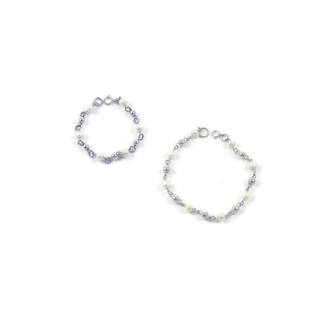 Bolitas Pearls Set of 2 Bracelets