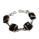 Parallel Bracelet - Chocolate