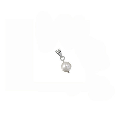 Pearl Drop Pendant - 3 Colors Available