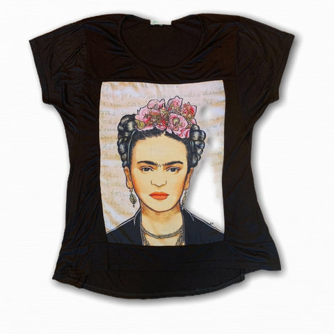 Frida Kahlo Short Sleeve T-Shirt