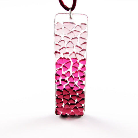 Picado Glass Pendant -Cherry