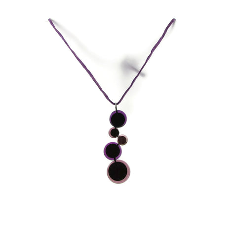 POP! Glass Necklace - Purple