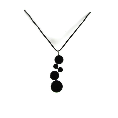 POP! Glass Necklace - Black