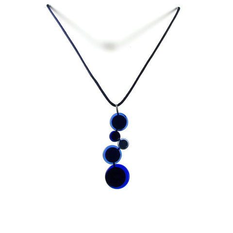 POP! Glass Necklace - Navy