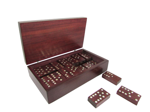 Rosewood Domino Set