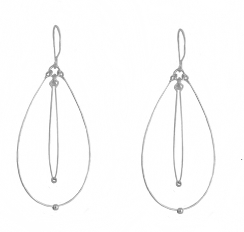 Orbit Ovals Light Earrings