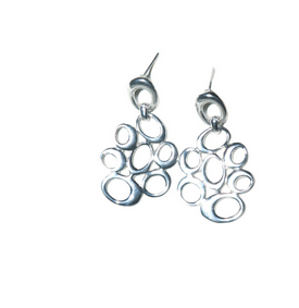Nopalitos Silver Earrings