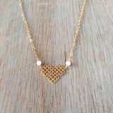 Millie Heart Necklace