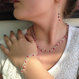 Xuxek Necklace - Coral