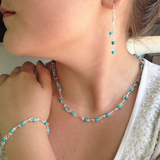 Xuxek Earrings - Turquoise