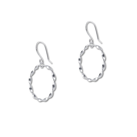 Mini Twisted Circles Earrings