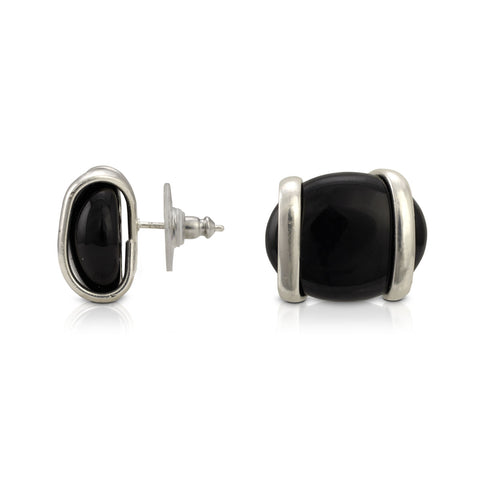 Parallel Earrings - Black