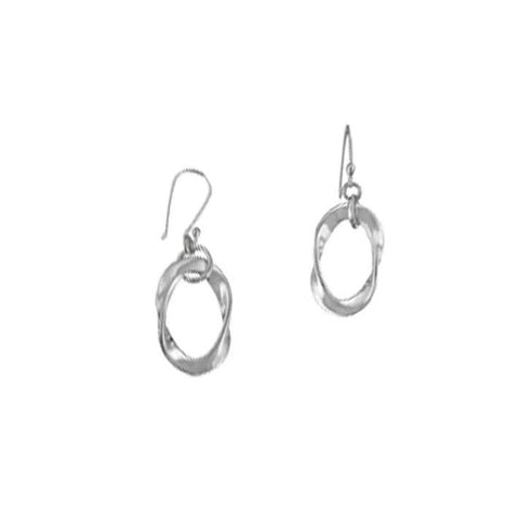 Twisted Ovals Earrings