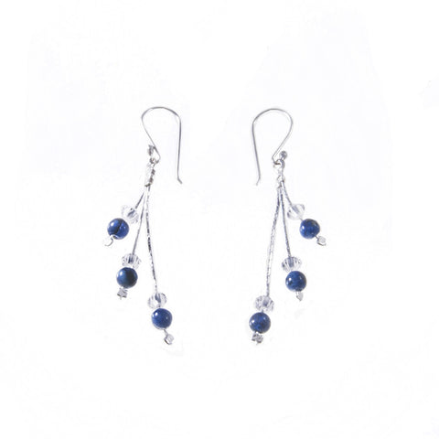 Xuxek Earrings - LapisLazuli
