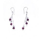 Xuxek Earrings - Amethyst