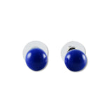 Glass Ball Studs - Baby Blue