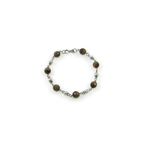 Bolitas Gemstones Bracelet - Tiger's Eye