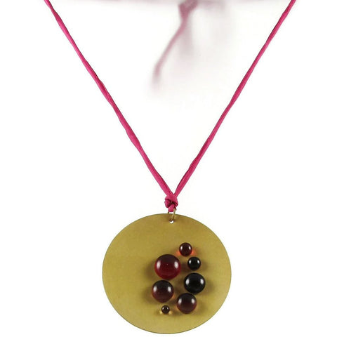 Cazuela Necklace - Cherry