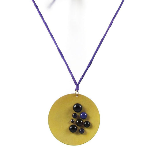 Cazuela Necklace - Purple
