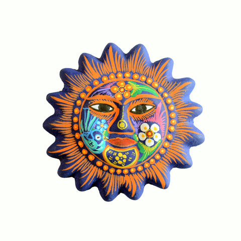 Clay Sun Magnet - 8 Colors Available