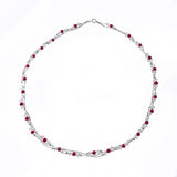 Xuxek Necklace - Garnet
