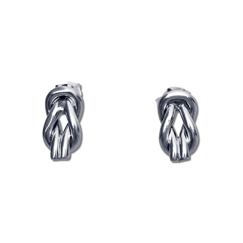 Double Infinity Knot Earrings