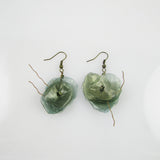 Fish Scales Earrings -Spruce