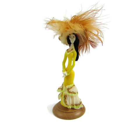 Miniature Collectible Catrina - Rosa