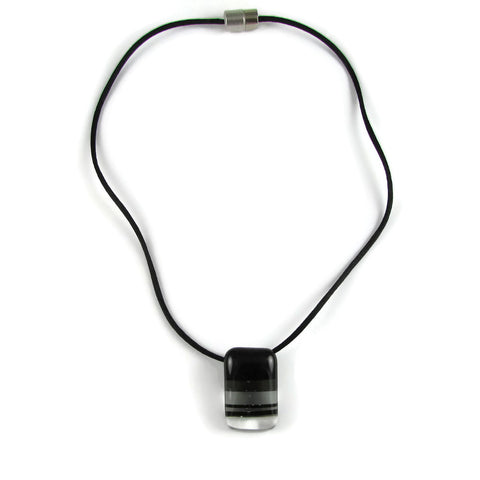 Ombre Mini Glass Pendant - Black