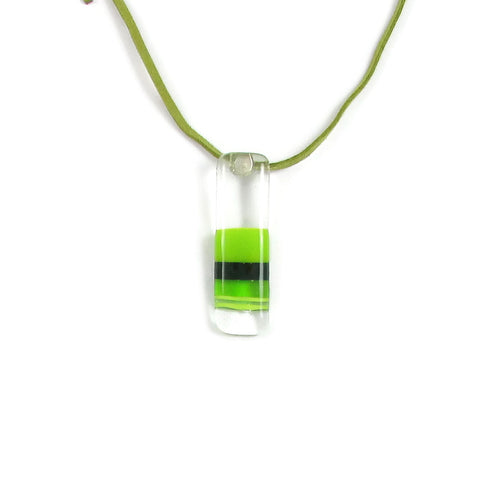 Jasper Glass Pendant